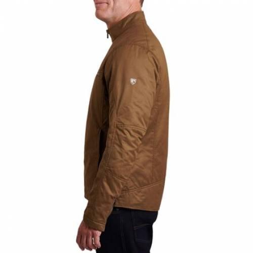 クール KUHL ジャケット カーキ 【 KUHL KAFE RACER JACKET DARK KHAKI 】 メンズファッション コート ジャケット