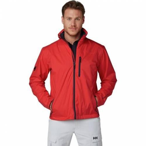 ファッションブランド カジュアル 公式 ファッション ヘリーハンセン HELLY HANSEN クルー ジャケット 赤 RED JACKET メンズファッション トップス MIDLAYER CREW 数量は多 レッド ALERT