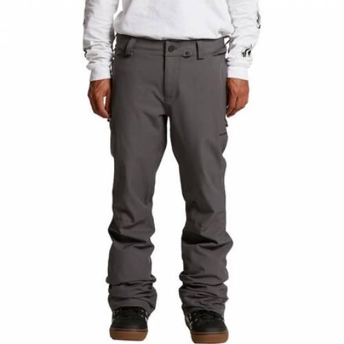 ファッションブランド 引出物 カジュアル ファッション ボルコム VOLCOM 日本未発売 パンツ 灰色 グレー KLOCKER TIGHT メンズ ウインタースポーツ アウトドア ロングパンツ PANT GREY スポーツ スノーボード DARK