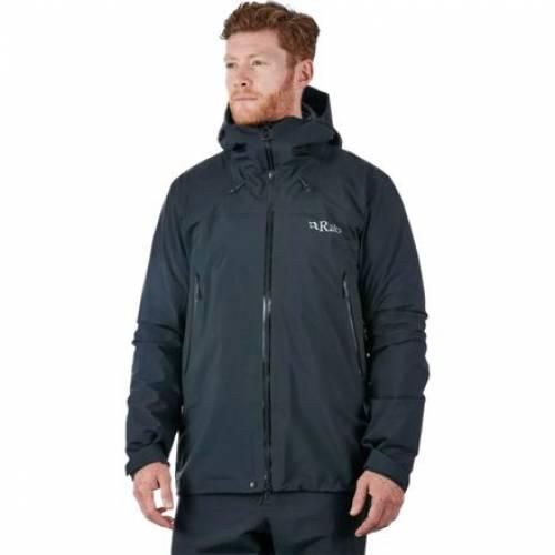 ファッションブランド カジュアル ファッション ジャケット パーカー ベスト RAB 黒色 ブラック ウインタースポーツ 毎日がバーゲンセール JACKET スキー メンズ BLACK アウトドア スポーツ GTX 市場 KANGRI