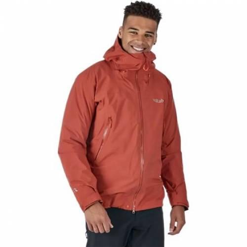 ファッションブランド 35%OFF カジュアル ファッション ジャケット パーカー ベスト RAB 赤 レッド RED 実物 スポーツ スキー ウインタースポーツ GTX JACKET KANGRI アウトドア CLAY メンズ