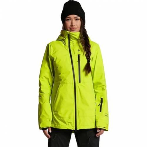 売却 ファッションブランド カジュアル ファッション 売り込み ジャケット パーカー ベスト ボルコム VOLCOM ゴアテックス ライム GORETEX レディース スキー JACKET スポーツ NYA ウインタースポーツ TDS アウトドア LIME