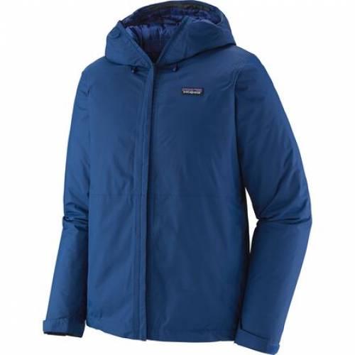ファッションブランド カジュアル ファッション パタゴニア PATAGONIA ジャケット 青色 ブルー TORRENTSHELL レインウエア JACKET BLUE 売買 メンズファッション INSULATED レインコート レインジャケット 安心の定価販売 SUPERIOR