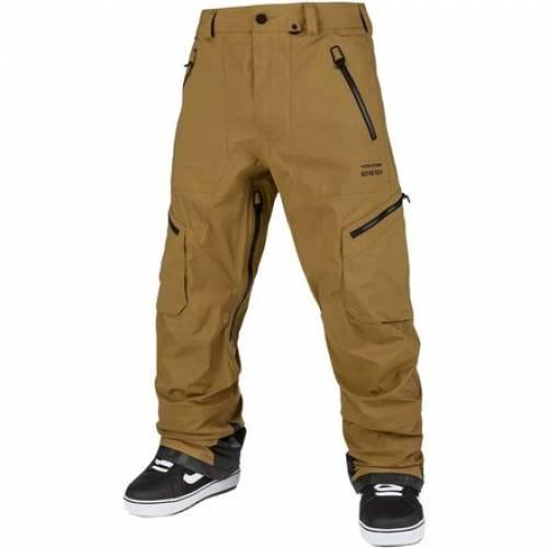 ファッションブランド カジュアル ファッション ボルコム ゴアテックス パンツ カーキ メンズ GUCH KHAKI 高級な VOLCOM GORETEX BURNT STRETCH PANT 公式サイト