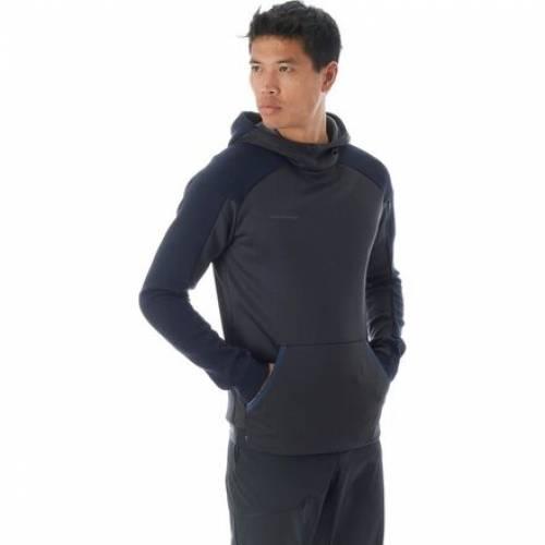 ファッションブランド カジュアル レビューを書けば送料当店負担 ファッション ジャケット パーカー ベスト MAMMUT ロゴ フーディー 購入 PEACOAT BLACK MELANGE メンズファッション トップス LOGO ブラック 黒色 ML
