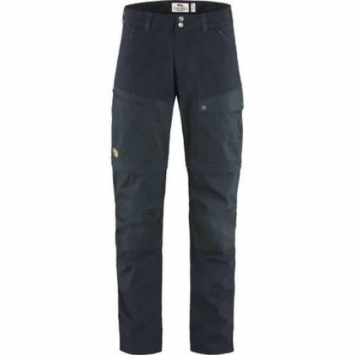 ファッションブランド カジュアル ファッション パンツ おすすめ 至上 フェールラーベン FJALLRAVEN 紺色 ネイビー ABISKO NAVY ズボン DARK ZIP OFF MIDSUMMER メンズファッション TROUSERS