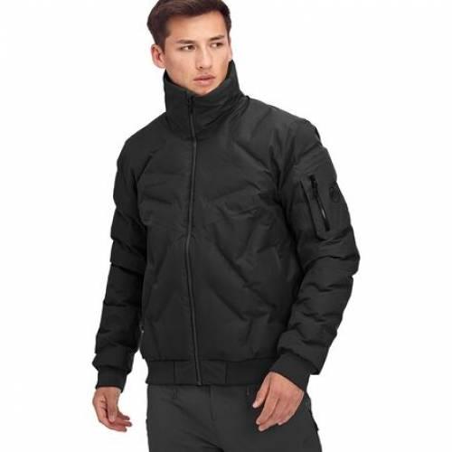 <title>ファッションブランド カジュアル ファッション ジャケット パーカー ベスト MAMMUT 黒色 ブラック ボンバージャケット PHOTICS HS THERMO BLACK メンズファッション 希少 コート</title>