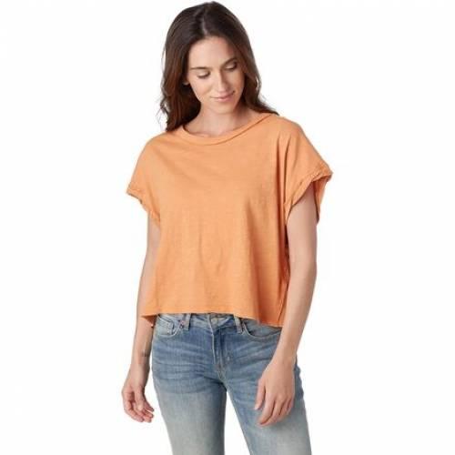 売り出し ファッションブランド カジュアル ファッション フリーピープル FREE !超美品再入荷品質至上! PEOPLE フリー Tシャツ CLAY TSHIRT YOU レディースファッション トップス CORAL ROCK