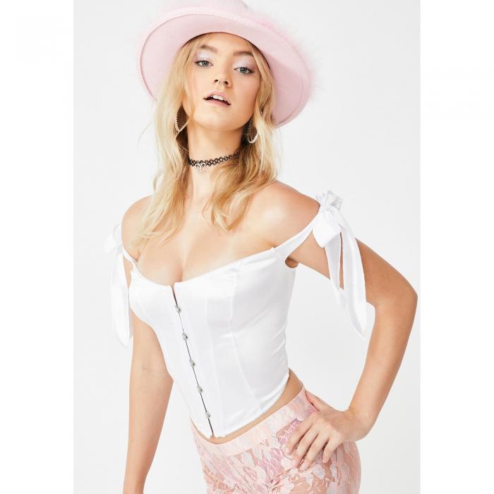 DOLLS KILL アイコン 白 ホワイト 【 WHITE DOLLS KILL BAEWATCH ICON COSTUME SET 】 レディースファッション