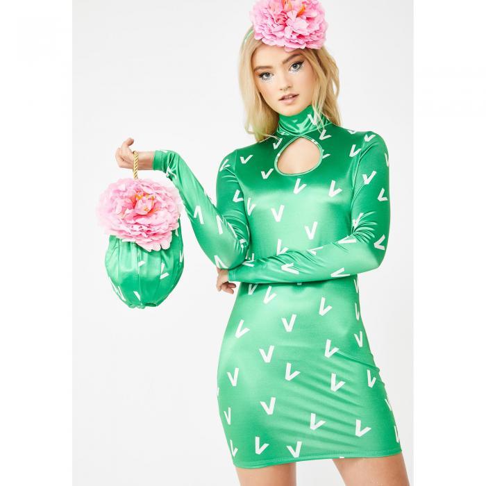 プリンセス 緑 グリーン 【 GREEN PRICKLY PRINCESS COSTUME SET 】 レディースファッション