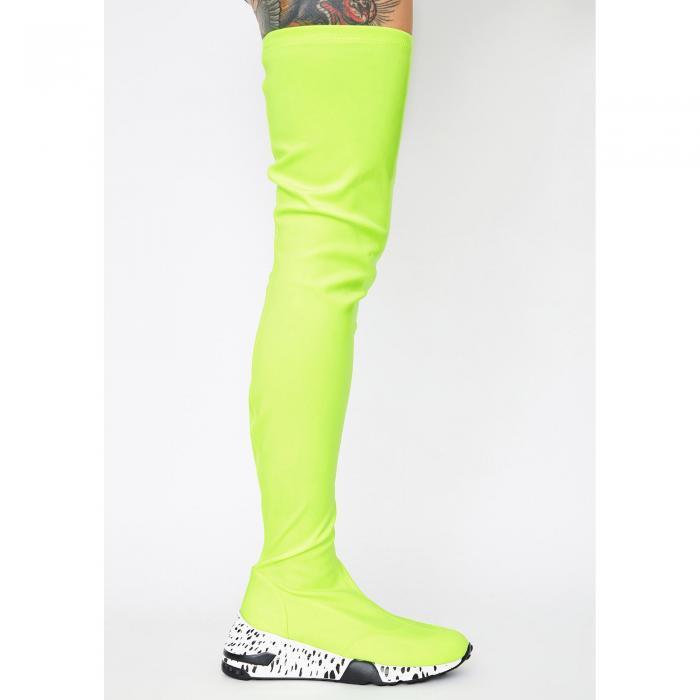 LEMONADE SHOES 【 Slime Posse Poise Sneaker Boots 】 Green