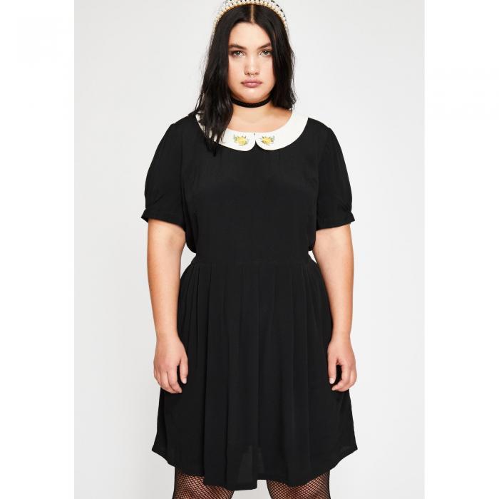 CURRENT MOOD 【 SHES SALTY BUT SWEET BABYDOLL DRESS BLACK 】 レディースファッション ワンピース 送料無料