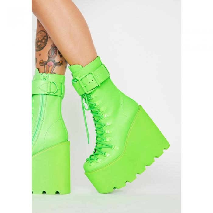 CLUB EXX 【 Atomic Traitor Boots 】 Green