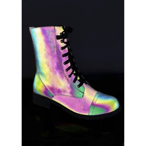 NYLA ウォリアー 【 Rainbow Warrior Reflective Boots 】 Multi