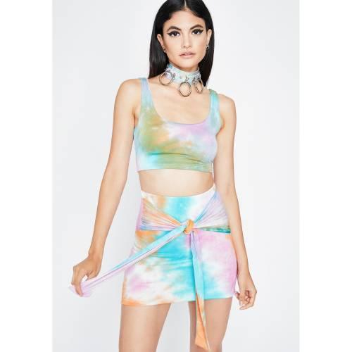 HOT DELICIOUS レディースファッション 【 Temptin Tempo Skirt Set 】 Multi
