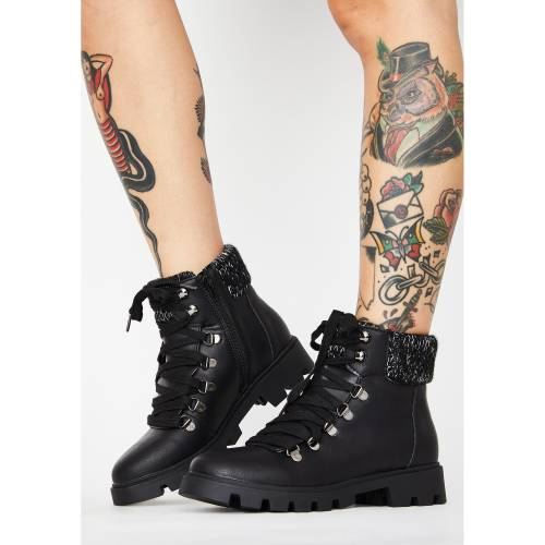 LUST FOR LIFE 【 FRIO ANKLE BOOTS BLACK 】 送料無料
