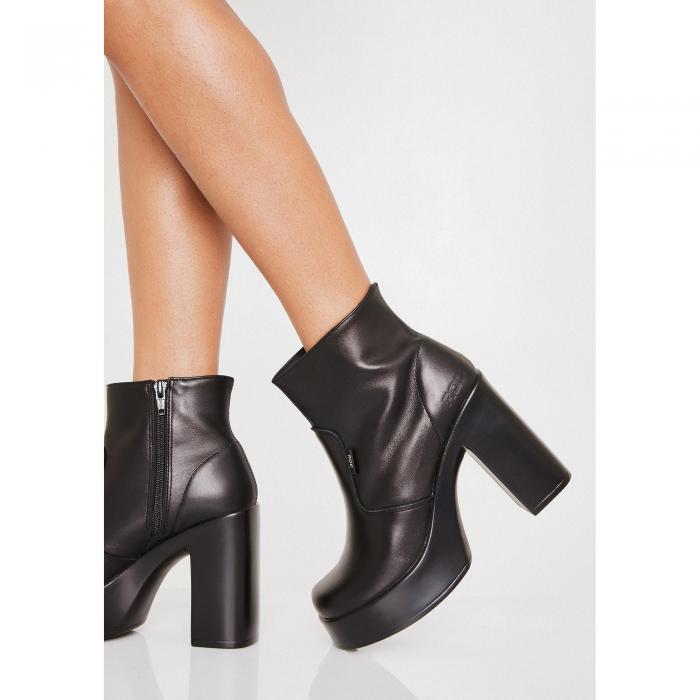 ROC BOOTS AUSTRALIA 【 Nimo Platform Boots 】 Black
