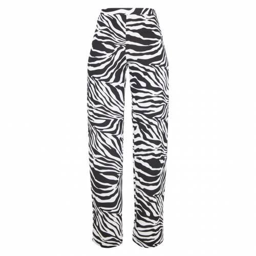 MASTAN_G MASTAN_G 【 PRETTYLITTLETHING WIDE LEG TROUSER ZEBRA 】 レディースファッション ボトムス パンツ