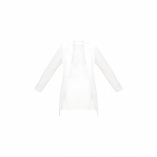 CTG_CLOT 【 PLUS NUDE LONGLINE BLAZER WHITE 】
