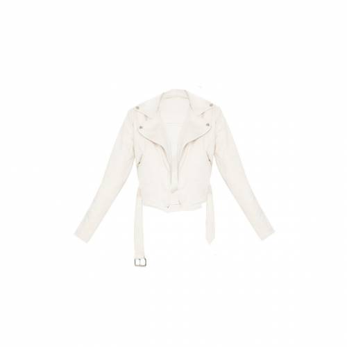 JANDB クリーム スエード スウェード 【 CREAM FAUX SUEDE BIKER JACKET 】