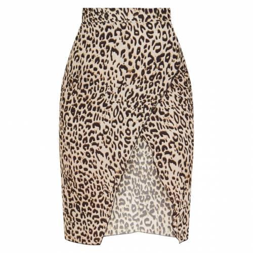 DVCLOTH カーキ ラップ 【 WRAP PETITE KHAKI PENCIL SKIRT BROWN 】 レディースファッション ボトムス スカート