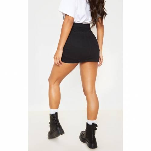 JANDB 砂色 サンド デニム 【 SAND DISCO FIT DENIM SKIRT BLACK 】 レディースファッション ボトムス スカート
