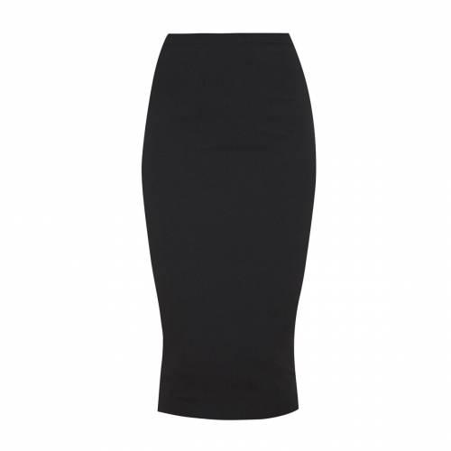 APPARELT クレープ レディースファッション ボトムス スカート 【 Prettylittlething Crepe Midi Skirt 】 Black
