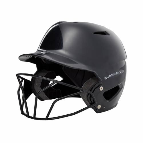ファッションブランド 野球 EVO SHIELD バッティング ランキング総合1位 ヘルメット 黒色 ブラック メンズ SCION SOFTBALL WITH BATTING XVT FACEMASK HELMET BLACK 限定タイムセール