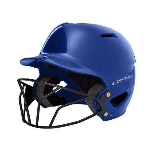 ファッションブランド 野球 EVO SHIELD バッティング ヘルメット メンズ 驚きの値段で HELMET ふるさと割 SOFTBALL WITH BATTING FACEMASK XVT SCION ROYAL