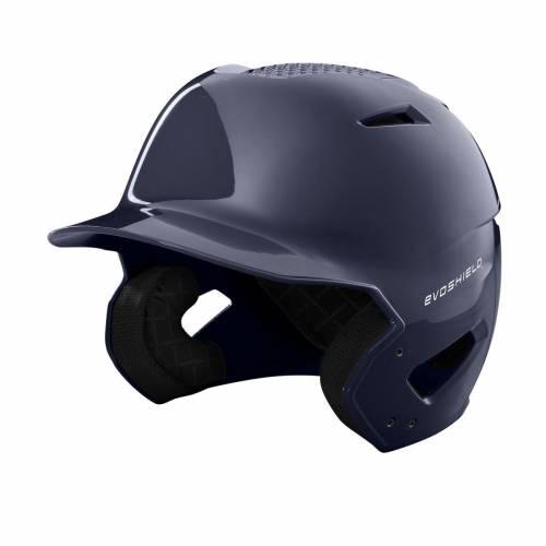 優先配送 ファッションブランド 野球 EVO SHIELD バッティング ヘルメット 紺色 ネイビー NAVY FITTED メンズ LUXE 開催中 BATTING XVT HELMET