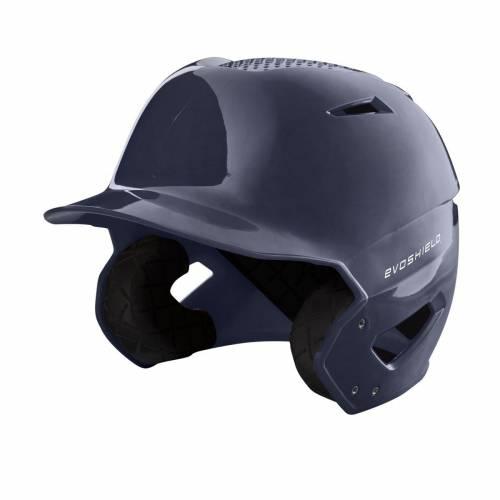 ファッションブランド 野球 EVO いよいよ人気ブランド SHIELD バッティング ヘルメット ハイ 紺色 ネイビー HIGH NAVY BATTING FINISH 売り込み HELMET GLOSS メンズ XVT