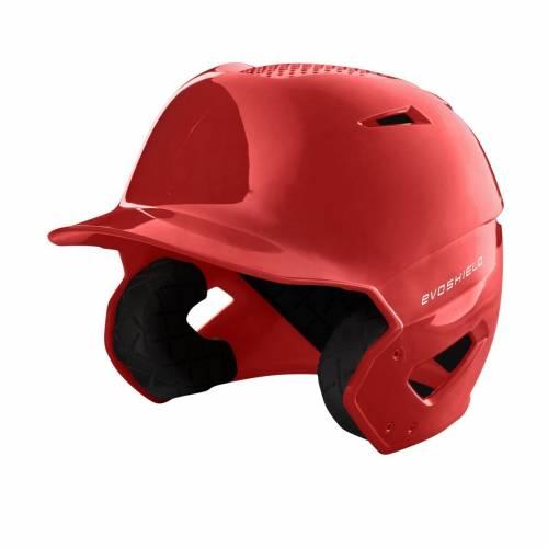 ファッションブランド 野球 中古 EVO SHIELD 海外並行輸入正規品 バッティング ヘルメット ハイ メンズ BATTING GLOSS HELMET HIGH SCARLET XVT FINISH