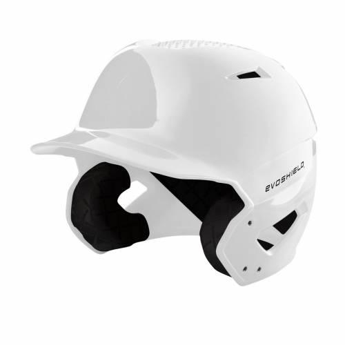 ファッションブランド 品質検査済 野球 EVO SHIELD バッティング ヘルメット ハイ 白色 ホワイト メンズ FINISH XVT WHITE HIGH GLOSS BATTING ブランド激安セール会場 HELMET