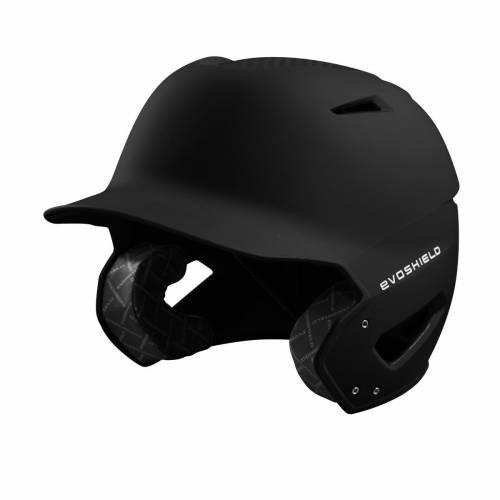 ファッションブランド 野球 トレンド EVO SHIELD バッティング ヘルメット 黒色 ブラック BLACK セール特価 メンズ BATTING MATTE FINISH HELMET XVT