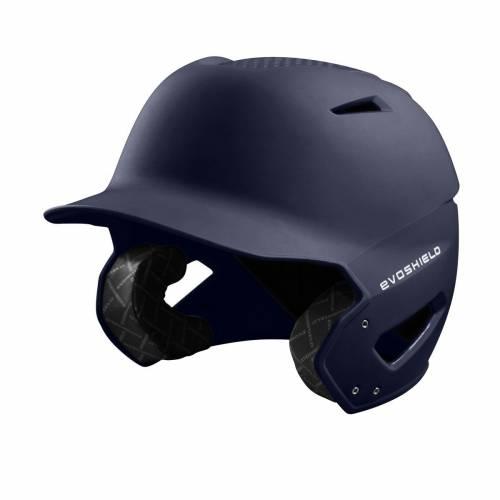 ファッションブランド 野球 EVO 休み SHIELD バッティング ヘルメット 紺色 ネイビー メンズ MATTE XVT NAVY 大幅値下げランキング HELMET FINISH BATTING
