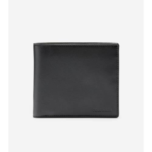 ファッションブランド カジュアル ファッション アクセサリー コールハーン COLE HAAN 財布 日本全国 送料無料 ケース BLACK 全品最安値に挑戦 GLOBAL BILLFOLD ブラック WALLET バッグ 黒色