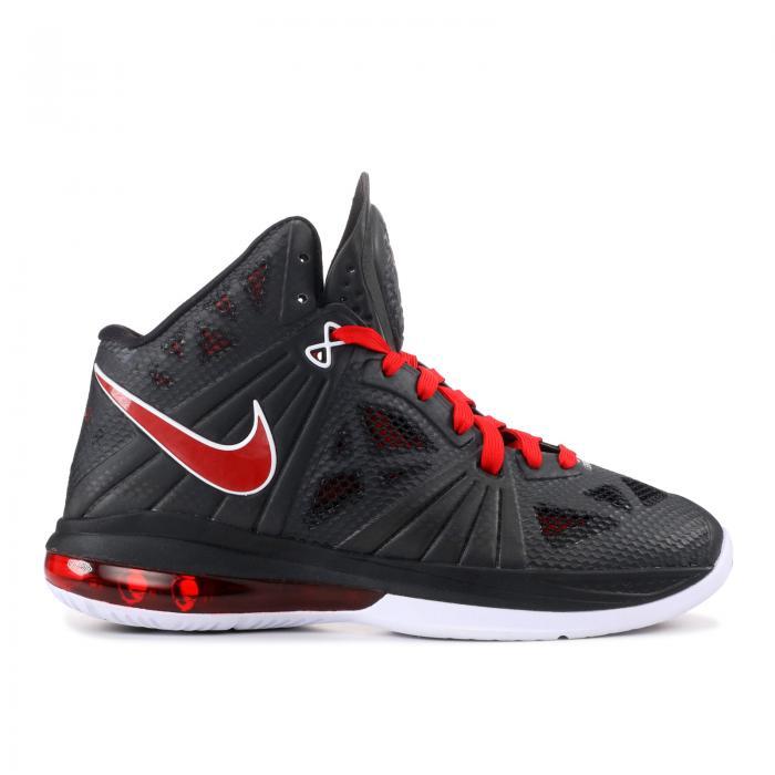 """【海外限定】レブロン 赤 レッド P.S. """"BLACK WHITE"""" 靴 メンズ靴 【 RED LEBRON 8 】【送料無料】"""