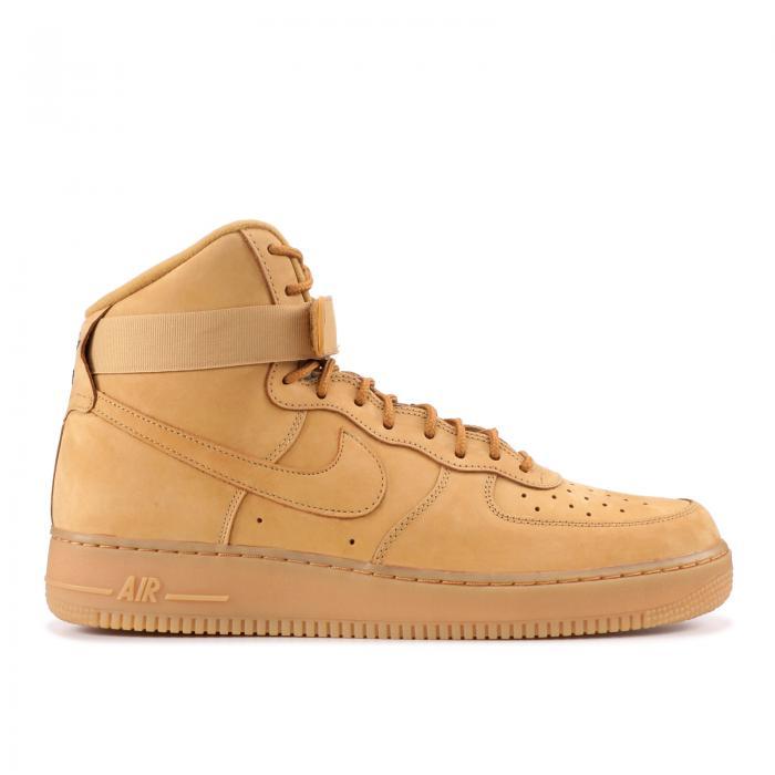 """【海外限定】エアー ハイ """"FLAX"""" 靴 メンズ靴 【 AIR FORCE 1 HIGH 07 LV8 】【送料無料】"""
