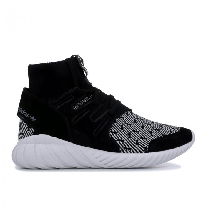 """【海外限定】""""BLACK WHITE"""" スニーカー メンズ靴 【 TUBULAR DOOM 】【送料無料】"""