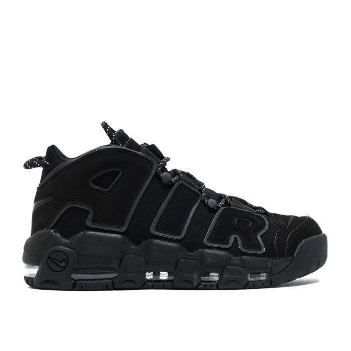 """【海外限定】エアー アップテンポ """"BLACK REFLECTIVE"""" スニーカー メンズ靴 【 AIR UPTEMPO MORE 】【送料無料】"""