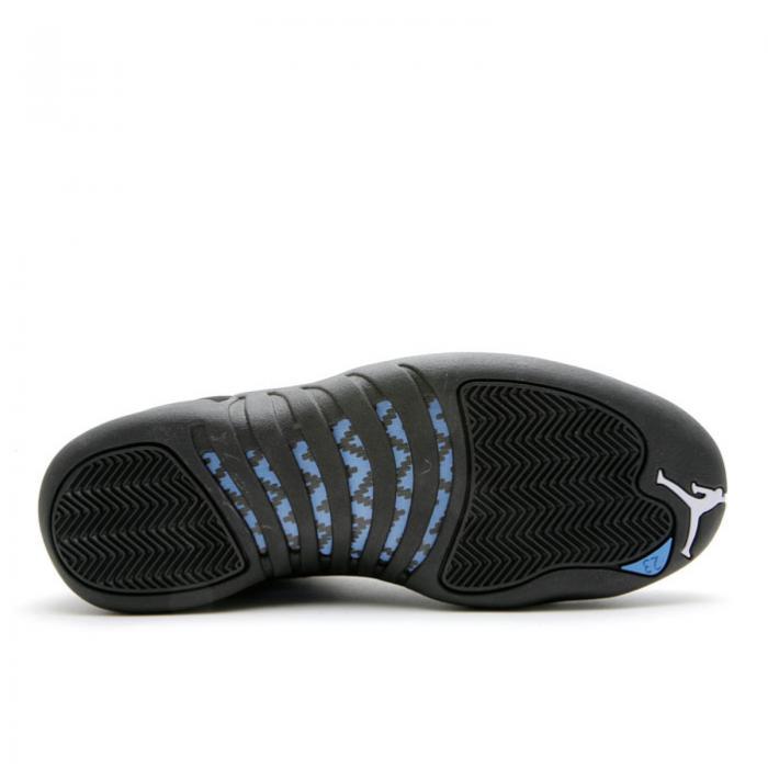 エアジョーダン AIR JORDAN エア 黒色 ブラック 青色 ブルー エアジョーダン 'NUBUCK' スニーカー メンズ 【 AIR 12 RETRO 2009 BLACK WHITEUNIVERSITY BLUE 】