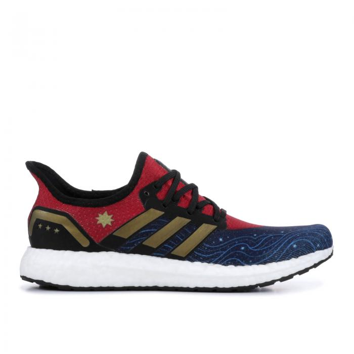 "'CAPTAIN MARVEL' ""CAPTAIN MARVEL"" スニーカー メンズ 【 ADIDAS MARVEL X SPEEDFACTORY AM4CM 】"