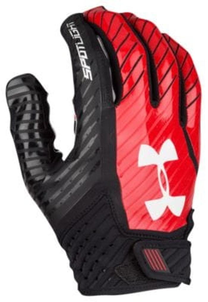 アンダーアーマー フットボール メンズ under armour spotlight football gloves アメリカンフットボール アウトドア スポーツ