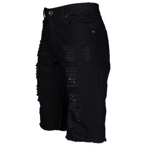 【海外限定】デニム dnm ショーツ ハーフパンツ メンズ distressed shorts