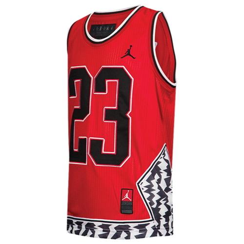 【海外限定】アッシュ ash ジョーダン バスケットボール ジャージ 男の子用 (小学生 中学生) 子供用 jordan aj fashion basketball jersey