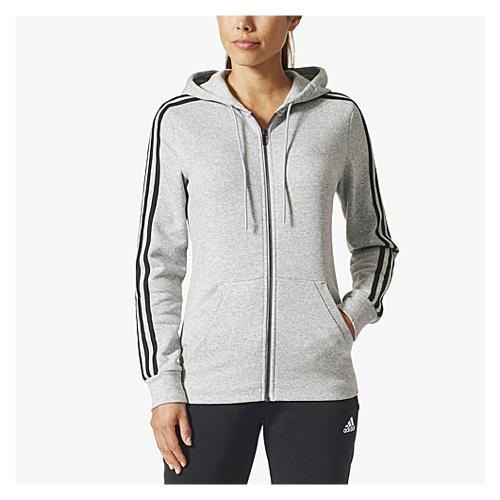アディダス アディダスアスレチックス adidas athletics 3stripes cotton fullzip hoodie フーディー パーカー レディース トップス レディースファッション