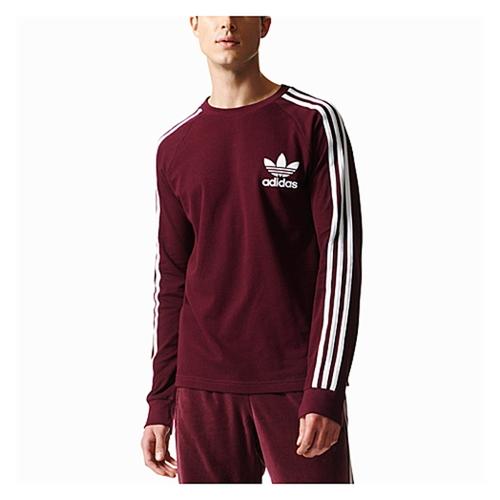 【海外限定】アディダス アディダスオリジナルス adidas originals オリジナルス 3stripes pique l s 長袖 ロングスリーブ tシャツ メンズ