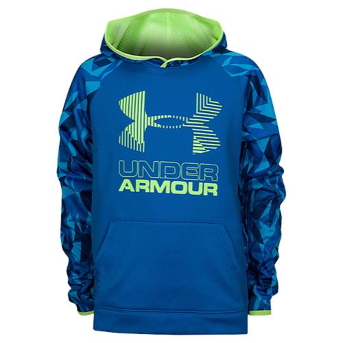 【海外限定】アンダーアーマー フリース ロゴ フーディー パーカー 男の子用 (小学生 中学生) 子供用 under armour fleece novelty big logo hoodie