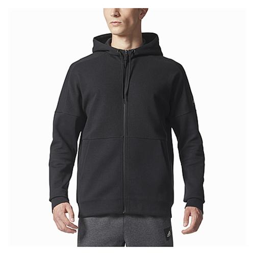 【海外限定】アディダス アディダスアスレチックス adidas athletics jacquard fullzip hoodie フーディー パーカー メンズ