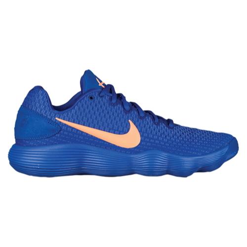 リアクト ロー Nike Mens React Hyperdunk 2017 Low Racer Blue Orange Pulse Light Racer Blue Nike バッシュ メンズ 2017 ナイキ (取寄) バスケットボール ハイパーダンク